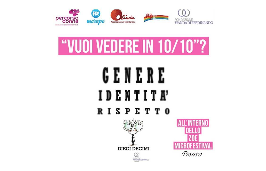 Vi aspettiamo il 12.7.2018 alle 19,00 allo Zoe Microfestival Orti Giuli, Pesaro