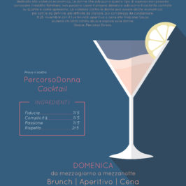 Bevi consapevolmente – cocktail party di Pecorso Donna