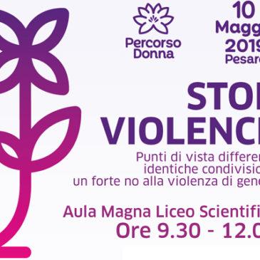 Percorsi – 10 Maggio – STOP VIOLENCE
