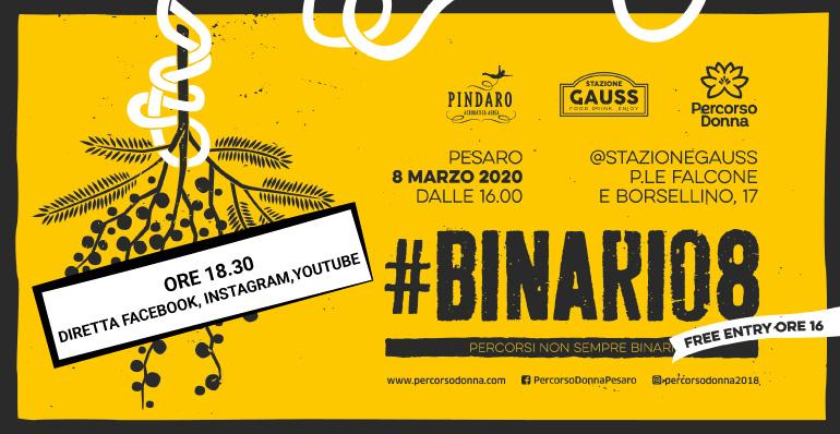 """La quarta edizione di """"#Binario8"""" si farà, """"un po' più in là""""."""