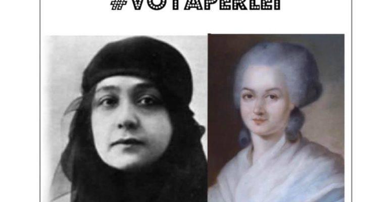VOTA PER LEI: Olympe de Gouges e Huda Shaarawi