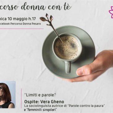 Percorso donna con tè ospita Vera Gheno